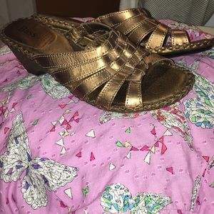 Bass Heeled Sandals